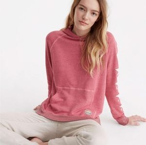 Sundry Stars and Patches Aloha Pink Hoodie